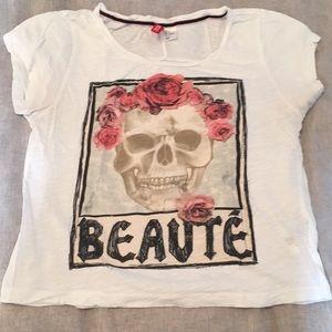 Tops - Skull tee shirt